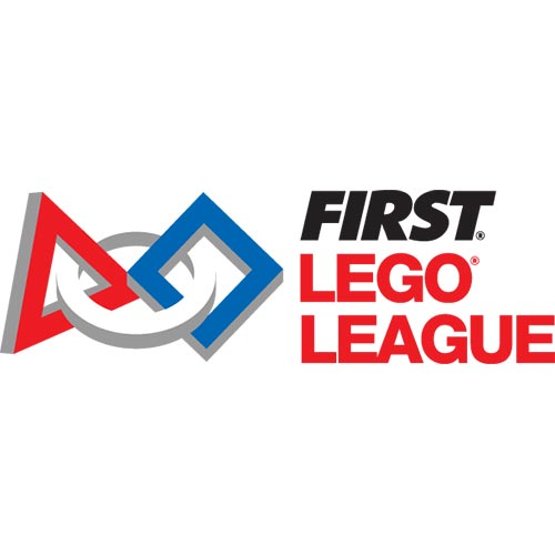 First Lego League logo graphic